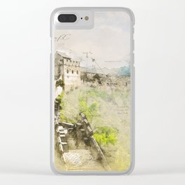 Great Chinese Wall Clear iPhone Case