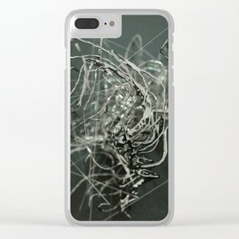 Shape of a life Clear iPhone Case
