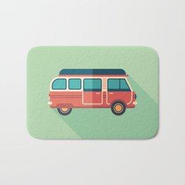 Retro Minivan Bath Mat