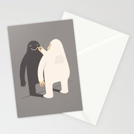Smile my shadow Stationery Cards