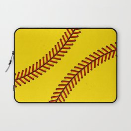 Fast Pitch Softball Laptop Sleeve