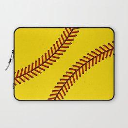 Fast Pitch Softball Laptop Sleeve