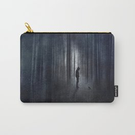 Raven  + Man Carry-All Pouch