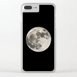 Super Moon. 14-11-2016 Clear iPhone Case