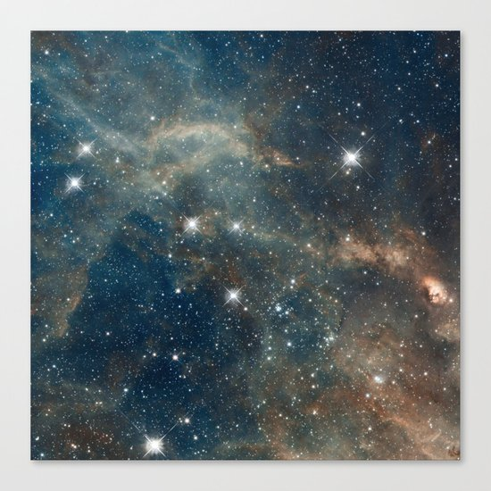 Cool Space Canvas Print