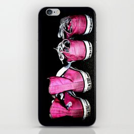 Pink Shoes iPhone Skin