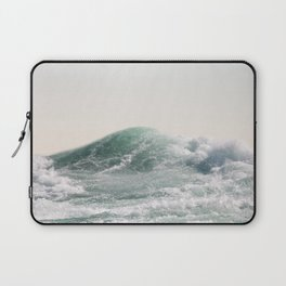 Waves and Sunrise   Happy Summer Photography   Ocean   Beach Vibes   Tropical Water   Sea  Laptop Sleeve