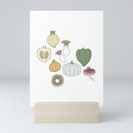 Vegetables (color) Mini Art Print
