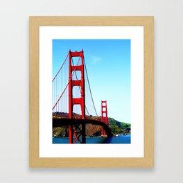 The Golden Framed Art Print