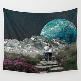 Moon Walk Wall Tapestry