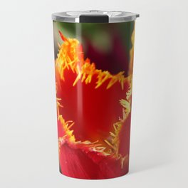 Tulip - Red with Ruffles Travel Mug