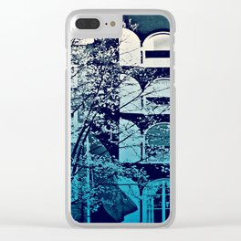 Amsterdam Home - Blue Clear iPhone Case