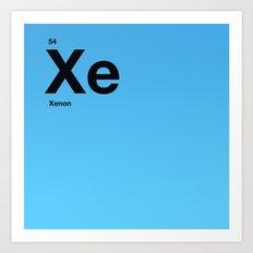 Xenon Art Print