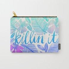Killin' It – Turquoise + Lavender Ombré Carry-All Pouch