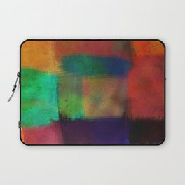Abstract Study Five abstract art by Ann Powell Laptop Sleeve
