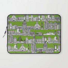 San Francisco green Laptop Sleeve