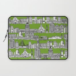 San Francisco green Laptop Sleeve