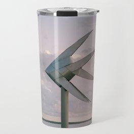Cairns Woven Fish Sculpture (Single) | Cairns Australia Ocean Sunrise Travel Photography Travel Mug