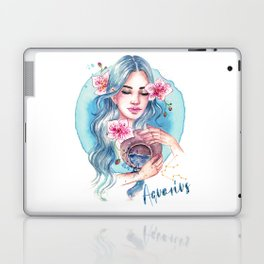 Aquarius Zodiac Laptop & iPad Skin