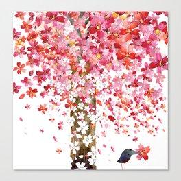 CHERRY WIND Canvas Print