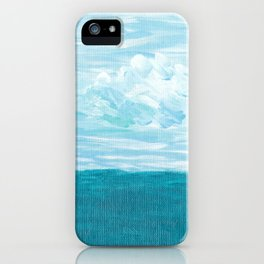 Chasing The Clouds Away iPhone Case