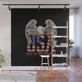 Love it or Leave it Wall Mural