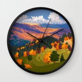 October 25 Wall Clock