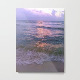 Beach Bubbles Metal Print