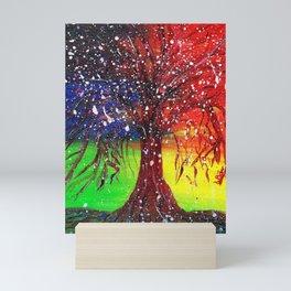 Magic Dew Drop Tree Mini Art Print