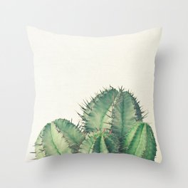 African Milk Barrel Throw Pillow
