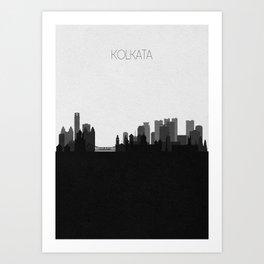 City Skylines: Kolkata Art Print