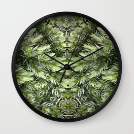 The Witch Of The Woods Wall Clock