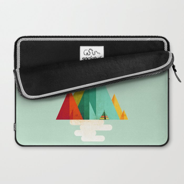 Little Geometric Tipi Laptop Sleeve