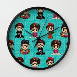 Little Fridas Wall Clock