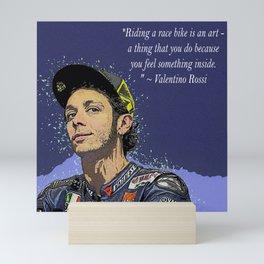 Rossi Valentino Desain 001 Mini Art Print
