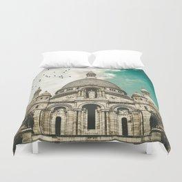 Sacré-Coeur Basilica Duvet Cover