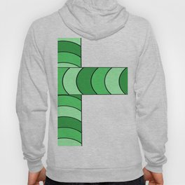 Blunt, in green Hoody