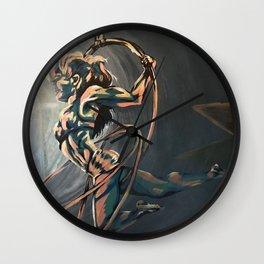 Hoop Trio Wall Clock