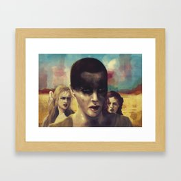 Mad Max Girls Framed Art Print