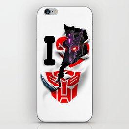 Tarn Takes Cybertron iPhone Skin