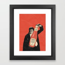 Vegetarian Vampire Framed Art Print