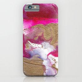 Eloise Abstract Painting iPhone Case