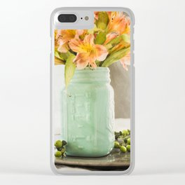 Thankfulness Clear iPhone Case