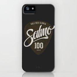 Salmo 100 iPhone Case