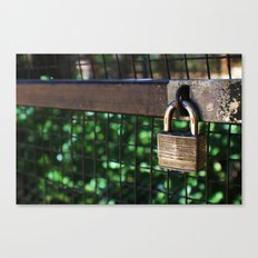 ~Lock Your Love Up and Throw Away the Key~ Canvas Print