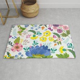 Spring Floral Pattern 04 Rug