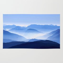 Blue Mountain Horizon Rug