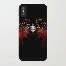 Thee Vampire Guild Bat Icon iPhone Case