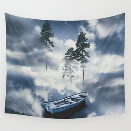 Forest sailing Wall Tapestry