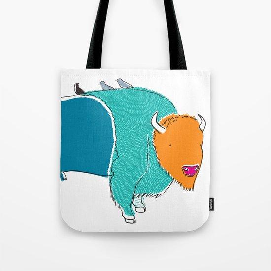 Bristol Bison Tote Bag